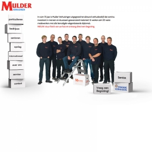 full-screen website