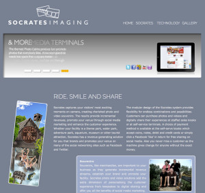 Website voor Socrates Imaging in Amsterdam
